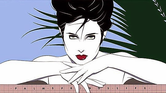 Palm Springs Life, Patrick Nagel