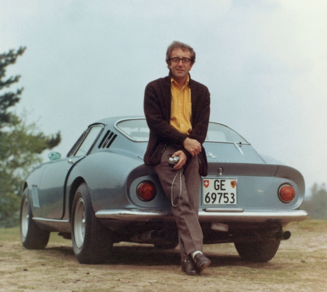 Peter-Sellers-and-his-wicked-Ferrari-275-GTB-in-1965