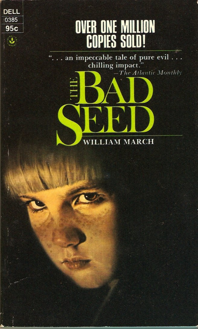 bad seed - william march - dell - 1975 paperback