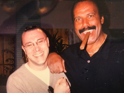 Me with Fred Williamson