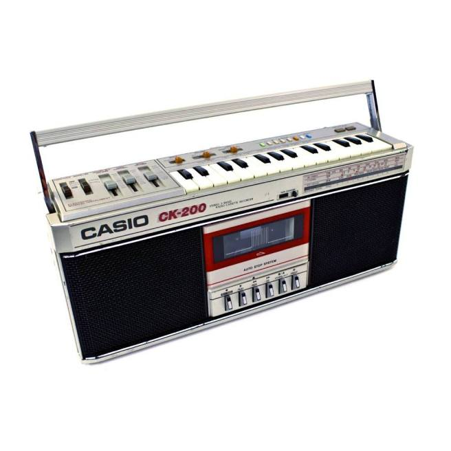 Casio_CK 200_Keyboard Boombox