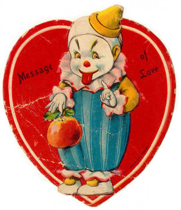 vintage-creepy-valentines-day-cards-clown